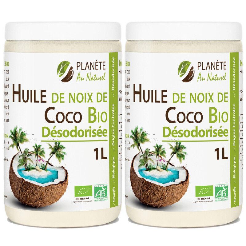 Planète au Naturel Huile de Coco Désodorisée Bio - 2 L