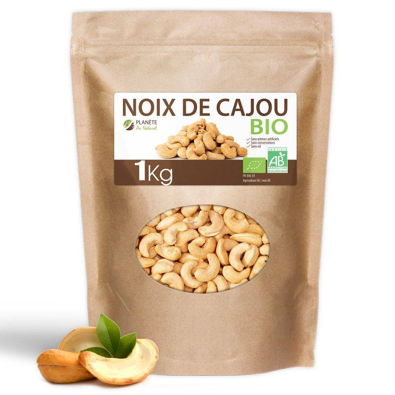 Planète au Naturel Noix de Cajou Bio - 1kg