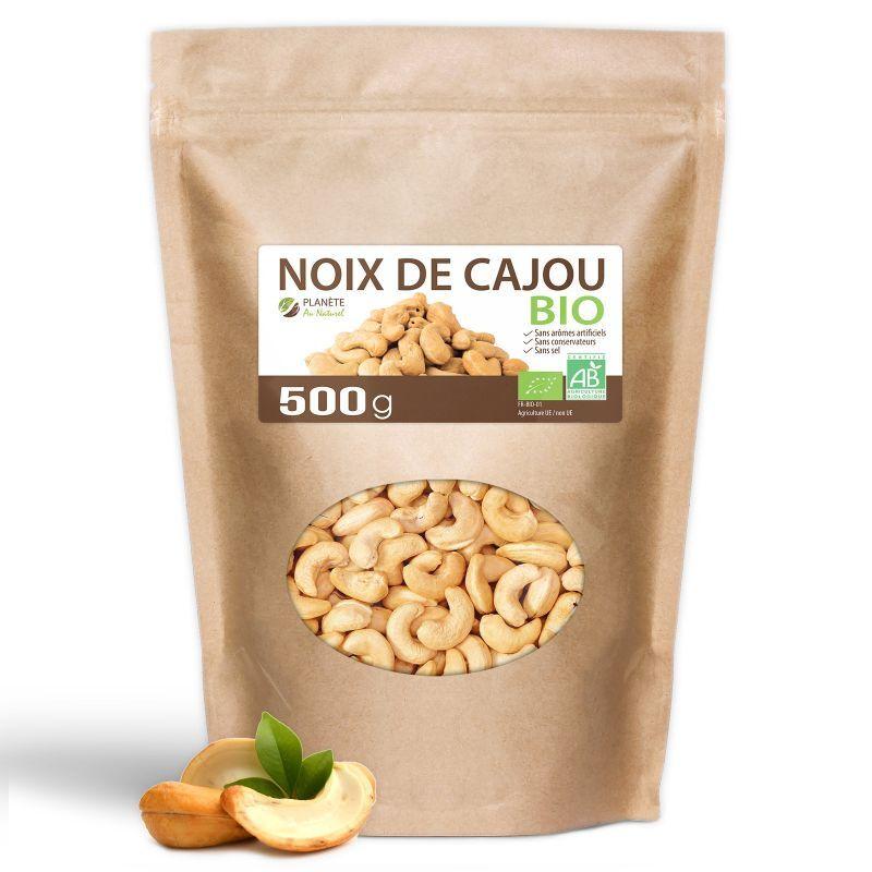Planète au Naturel Noix de Cajou Bio - 500g
