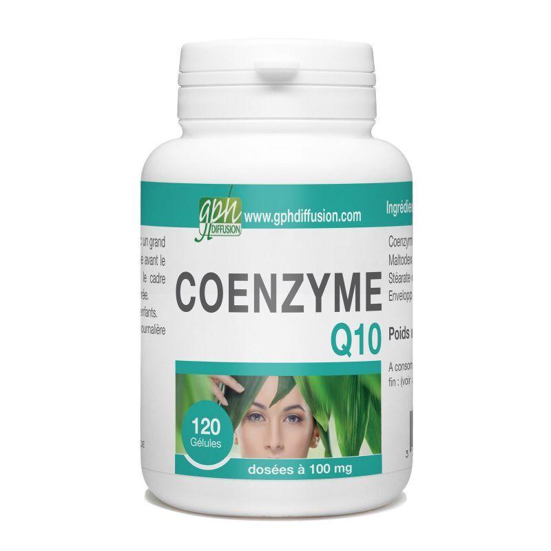 GPH Diffusion CoEnzyme Q10 - 100 mg - 120 gélules végétales