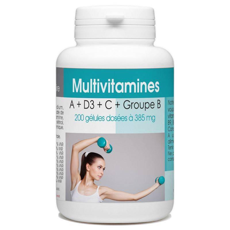 SPN Multivitamines A + D3 + C + Groupe B