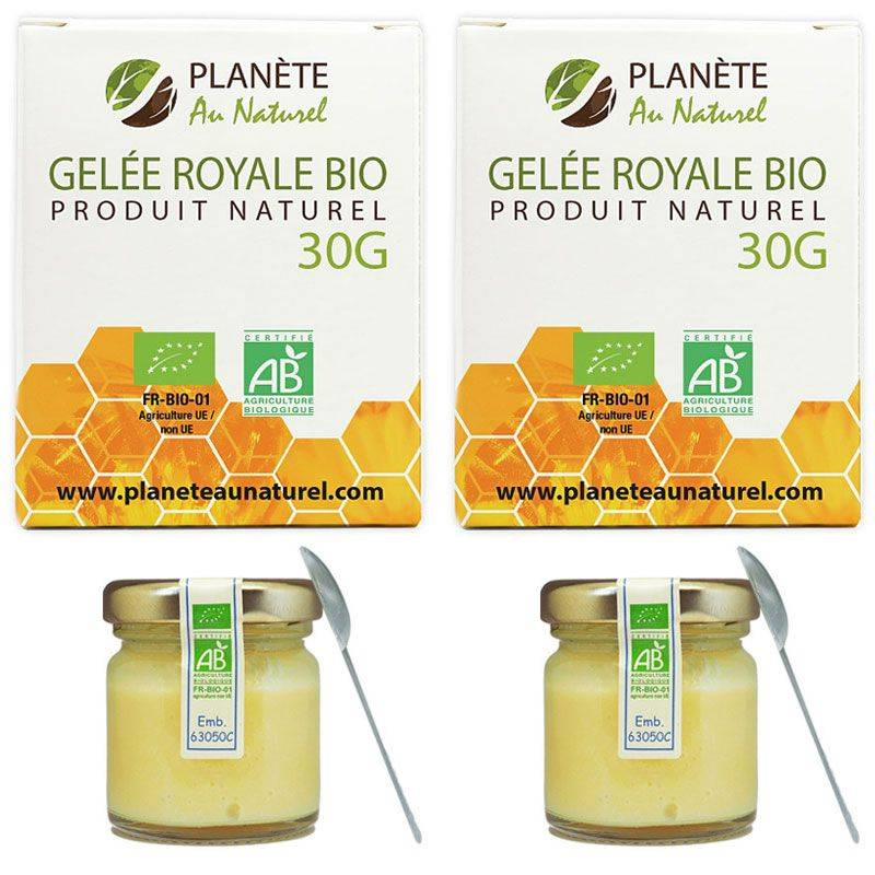 Planète au Naturel Gelée Royale Bio - 60 g