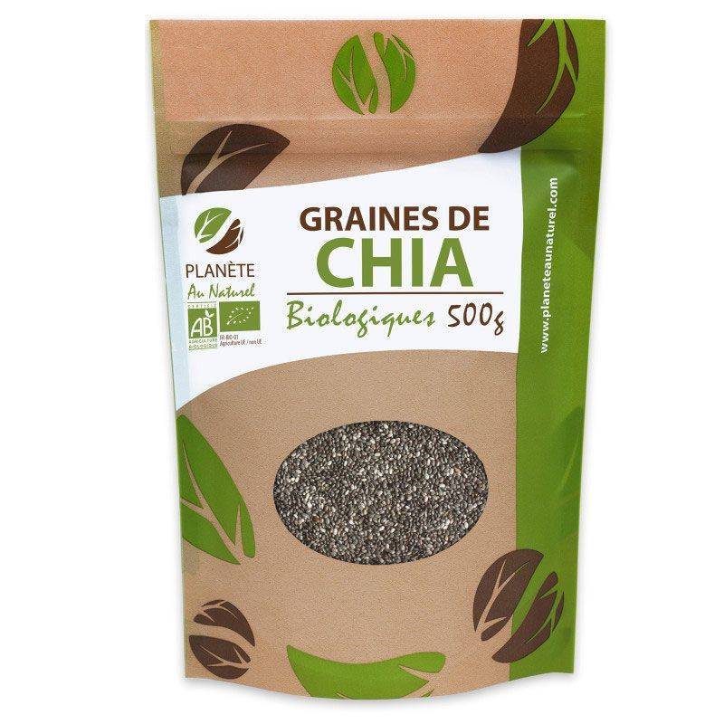 Planète au Naturel Graines de Chia Bio - 500 g