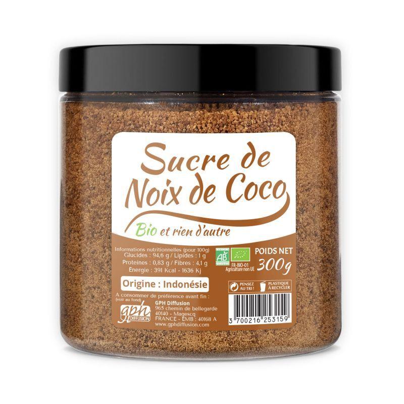 GPH Diffusion Sucre de Noix de Coco Bio - GPH