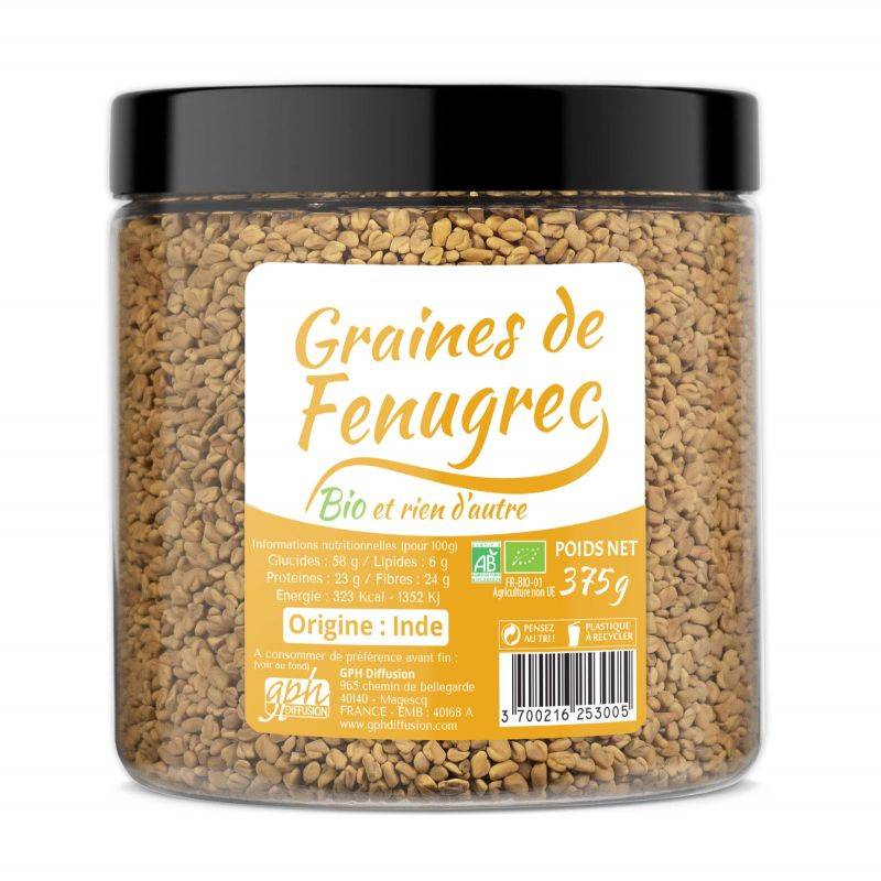 GPH Diffusion Graines de Fenugrec Bio - GPH