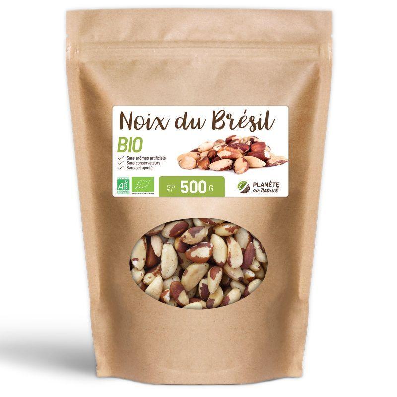 Planète au Naturel Noix du Brésil Bio - 500 g