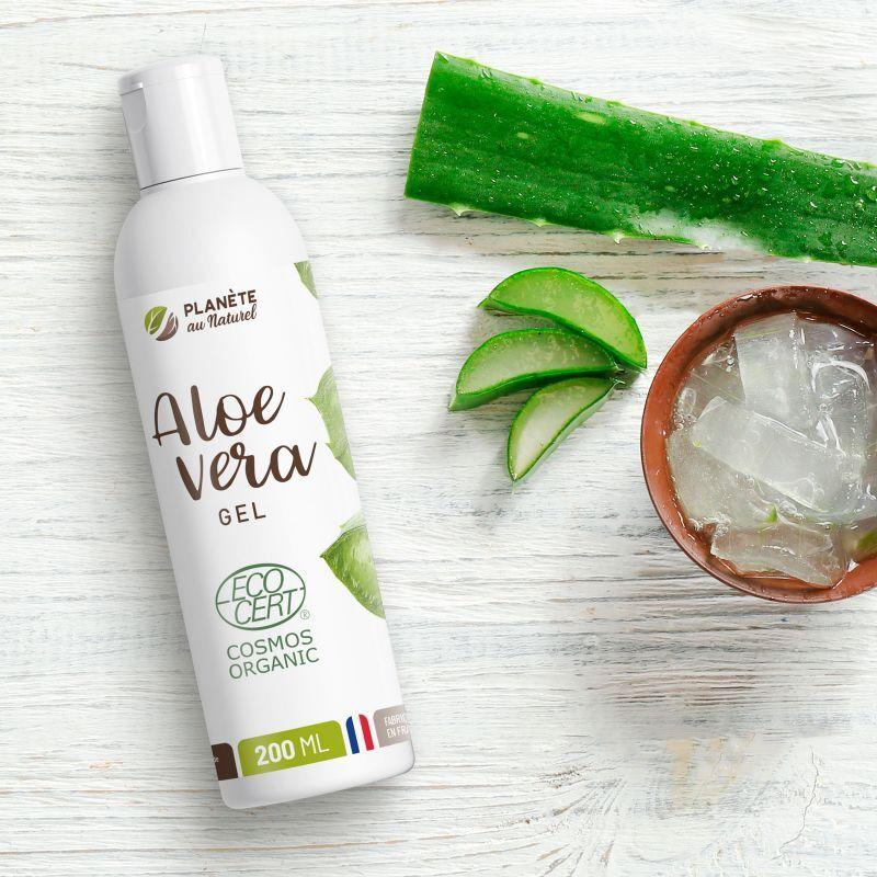 Planète au Naturel Aloe Vera Bio en Gel - 200 ml - Cosmos Organic