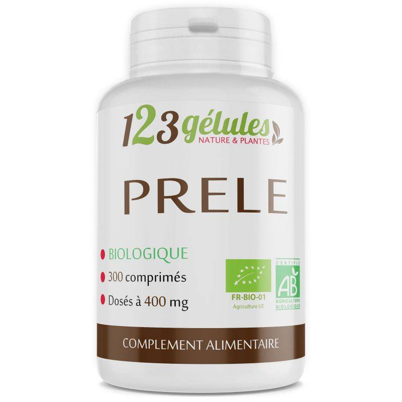 123gelules Prêle Bio - 400 mg - 300 comprimés