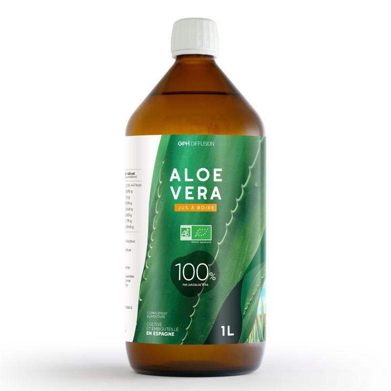 GPH Diffusion Aloé Vera - Pur Jus - 1 litre