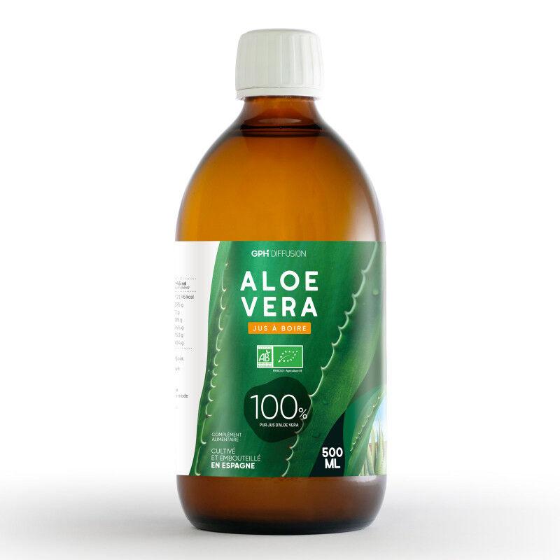 GPH Diffusion Aloé Vera - Pur Jus - 500 ml