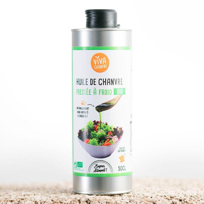 VivaChanvre Huile de Chanvre Bio - 500 ml