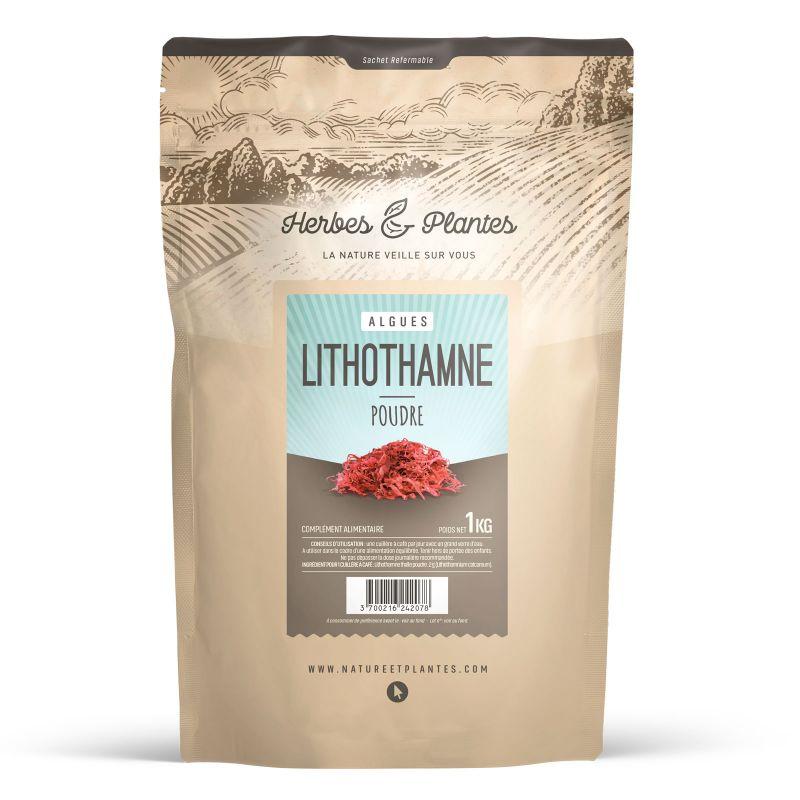 Herbes et Plantes Lithothamne - 1 kg de poudre