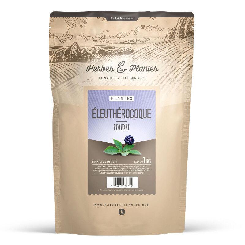 Herbes et Plantes Eleuthérocoque - 1 kg de poudre