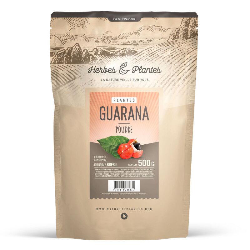 Herbes et Plantes Guarana - 500 g de poudre