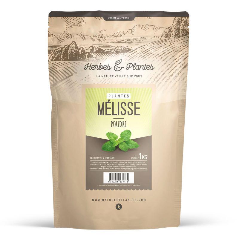 Herbes et Plantes Mélisse - Poudre 1 kg