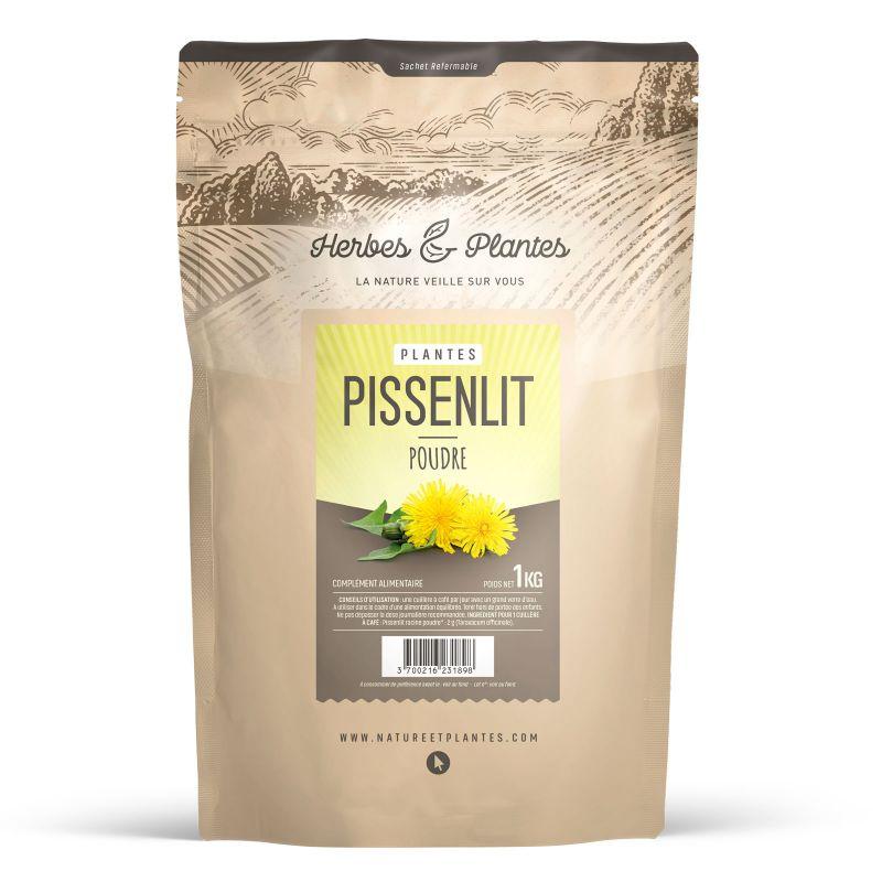 Herbes et Plantes Pissenlit - Poudre 1 kg