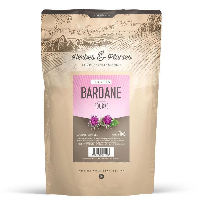 Herbes et Plantes Bardane - Poudre 1 kg