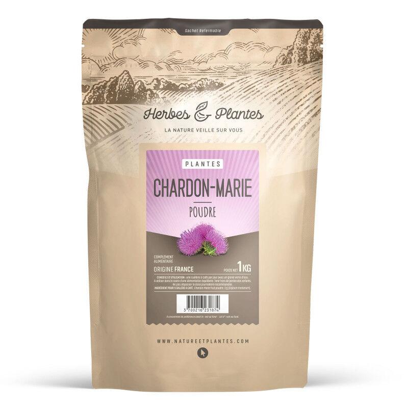 Herbes et Plantes Chardon Marie - Poudre 1 kg