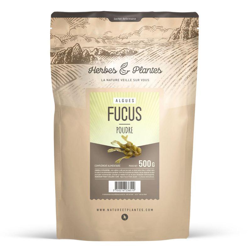 Herbes et Plantes Fucus poudre - 500 g