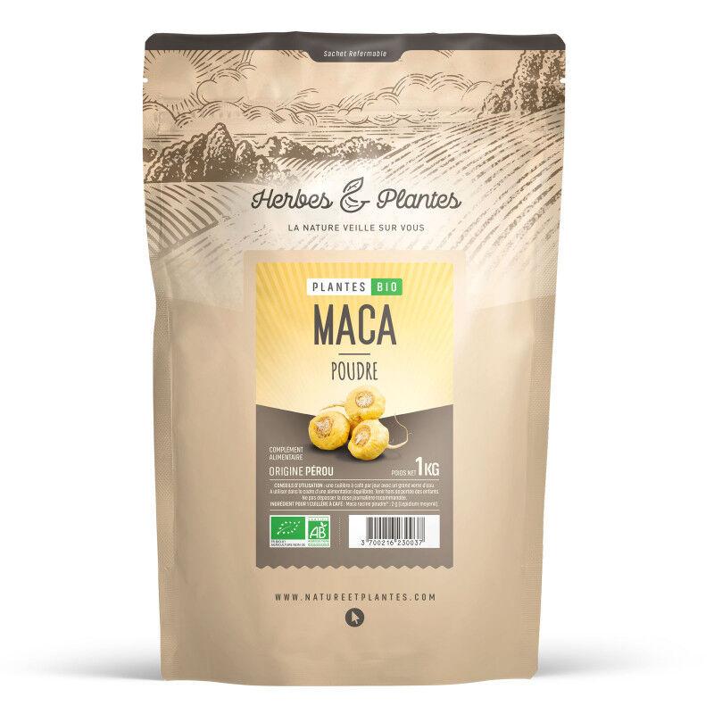 Herbes et Plantes Maca du Perou Bio - en poudre - 1 kg