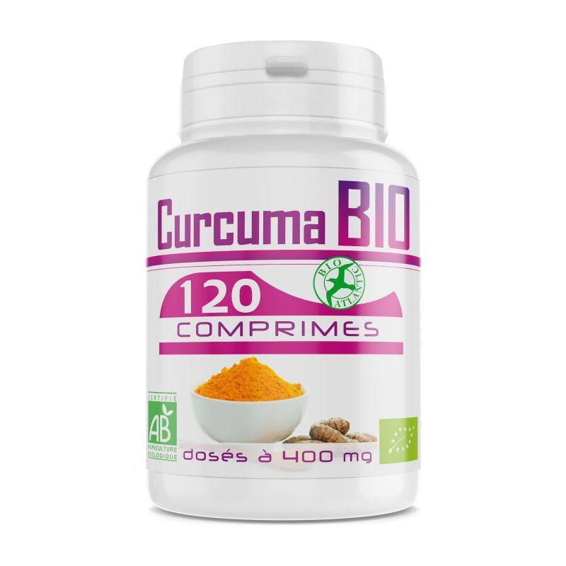 Bio Atlantic Curcuma Bio - 400 mg - 120 Comprimés