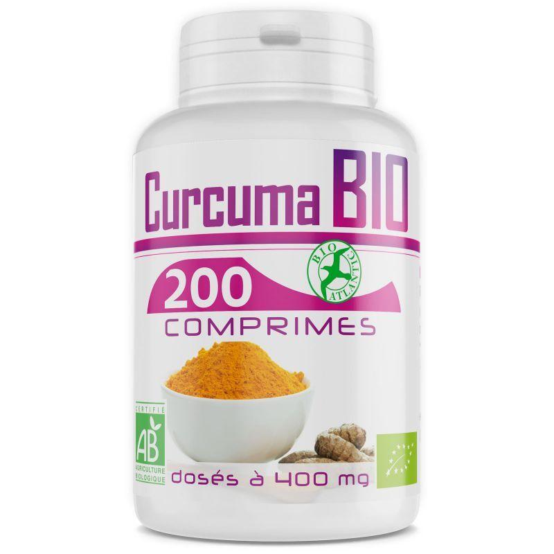 Bio Atlantic Curcuma Bio - 400 mg - 200 Comprimés