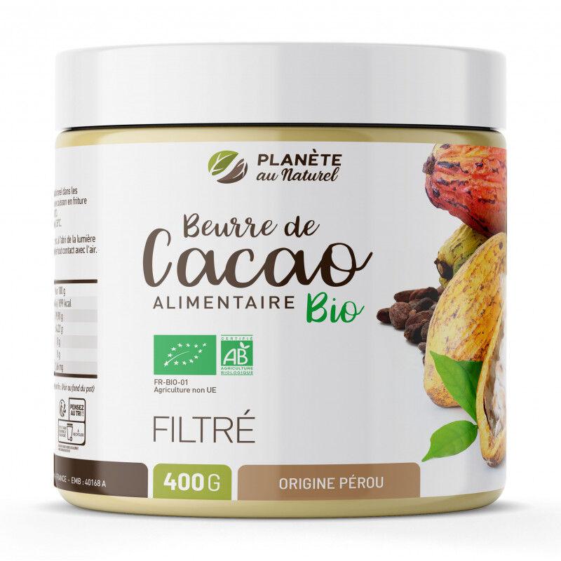 Planète au Naturel Beurre de Cacao Bio Alimentaire