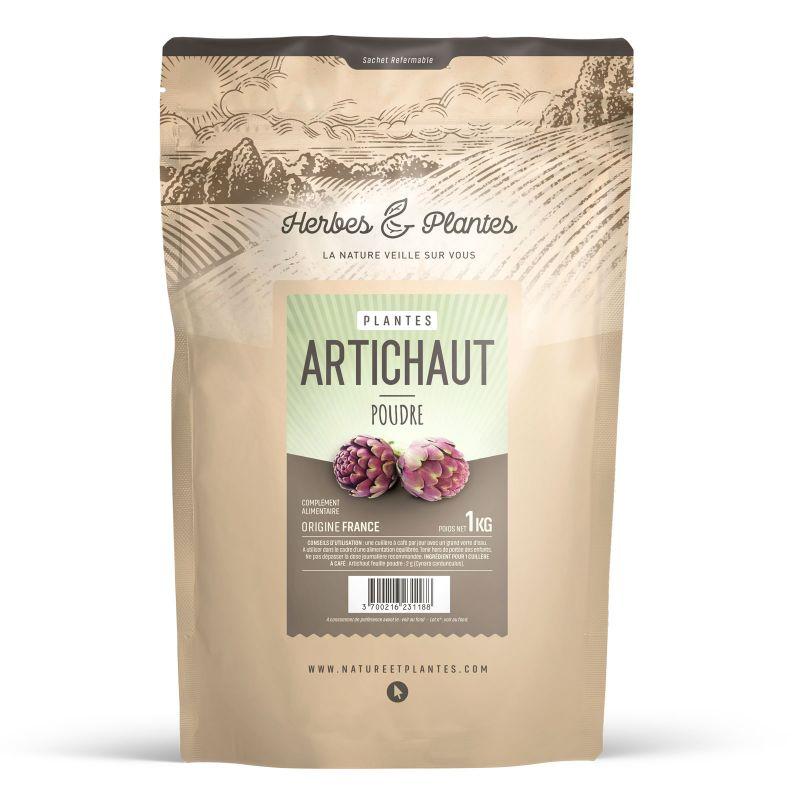 Herbes et Plantes Artichaut - Poudre 1 kg