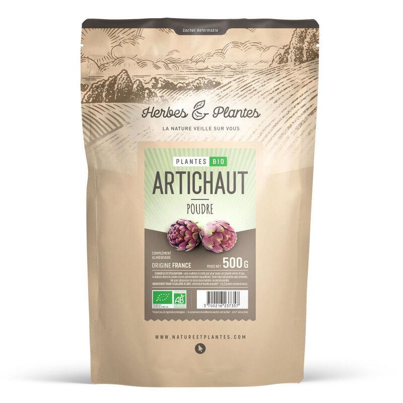 Herbes et Plantes Artichaut Bio (Feuille) - 500 g de poudre
