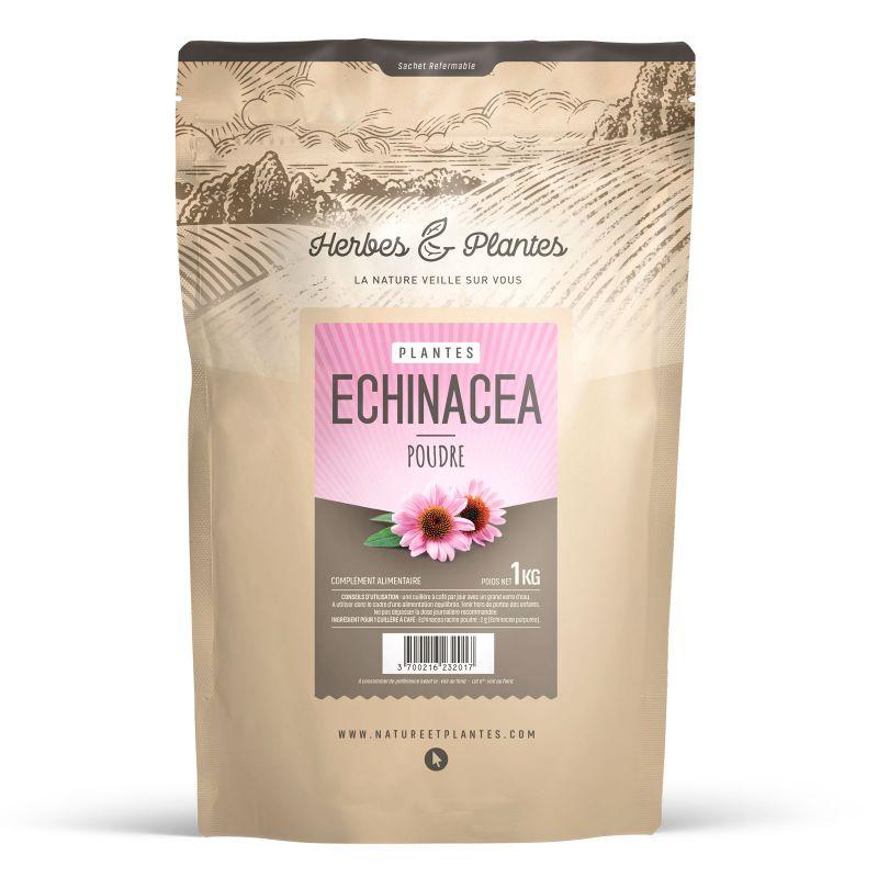 Herbes et Plantes Echinacéa - 1 Kg de poudre