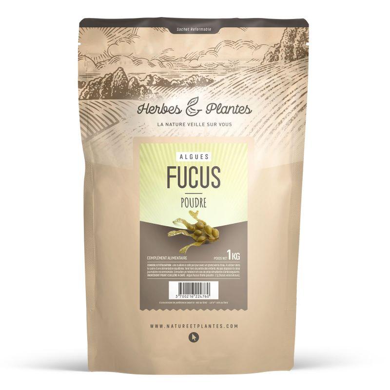 Herbes et Plantes Algue Fucus - 1 kg de poudre