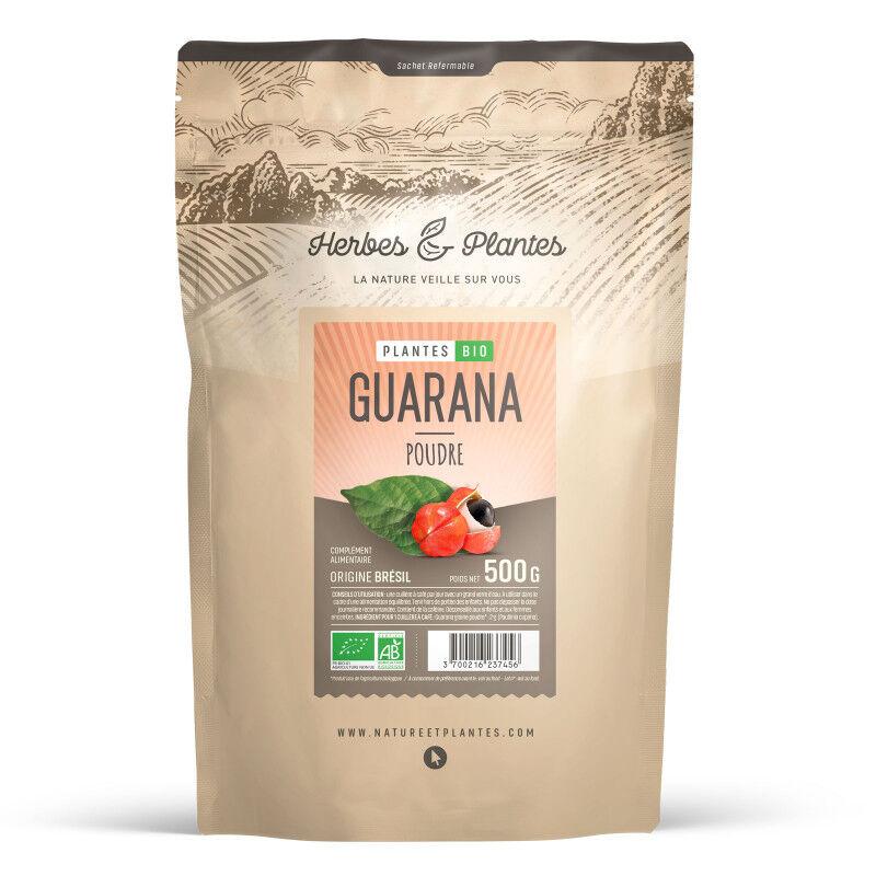 Herbes et Plantes Guarana Bio - 500 g de poudre