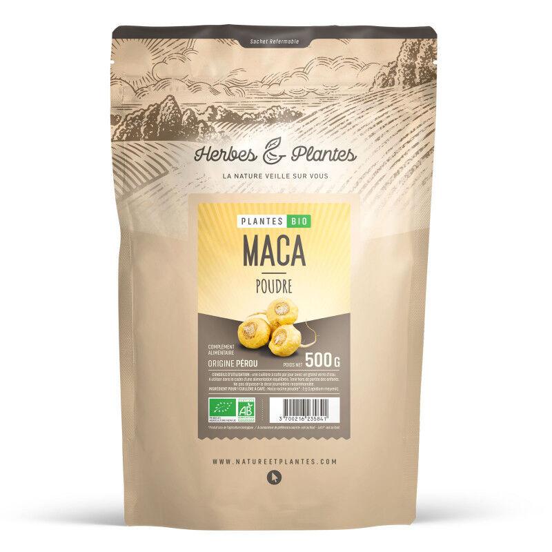 Herbes et Plantes Maca du Perou Bio - en poudre - 500 g