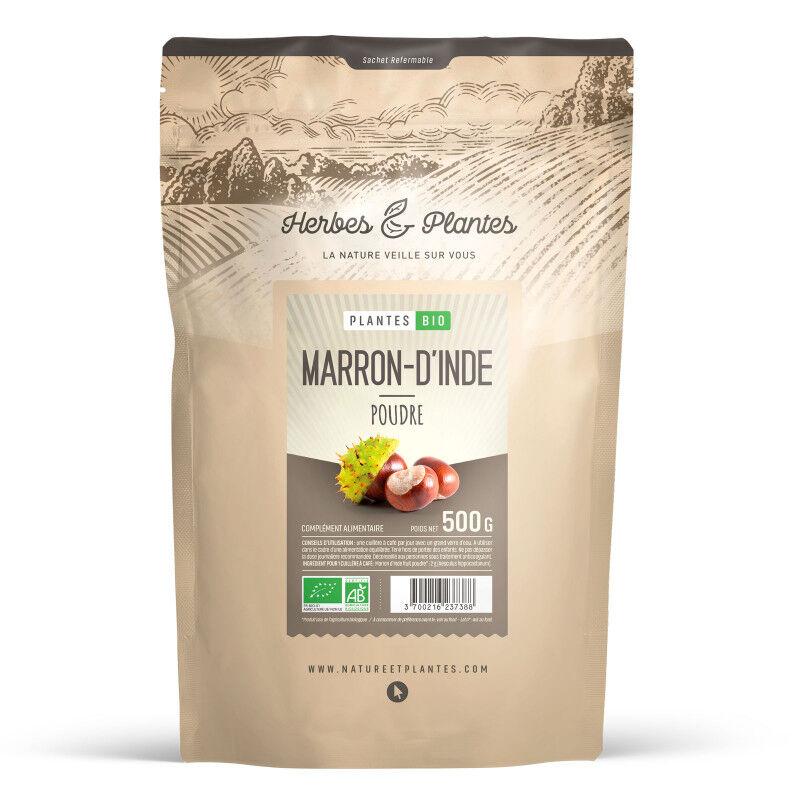 Herbes et Plantes Marron d'Inde Bio - 500 g de poudre