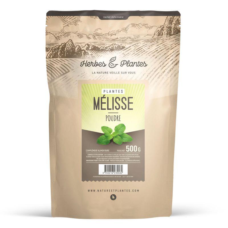 Herbes et Plantes Poudre de Mélisse - 500 g