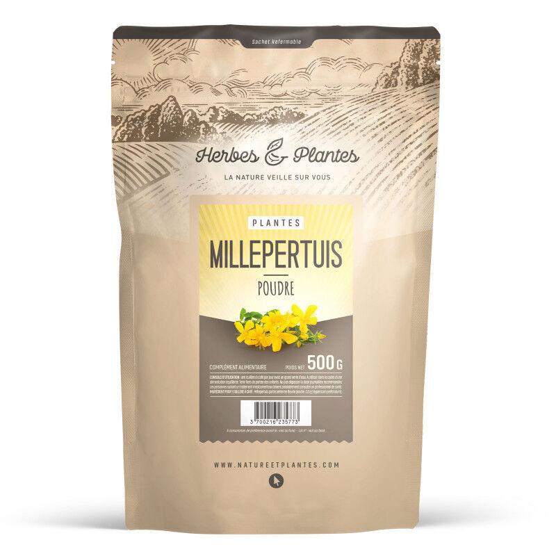 Herbes et Plantes Millepertuis en Poudre - 500 g