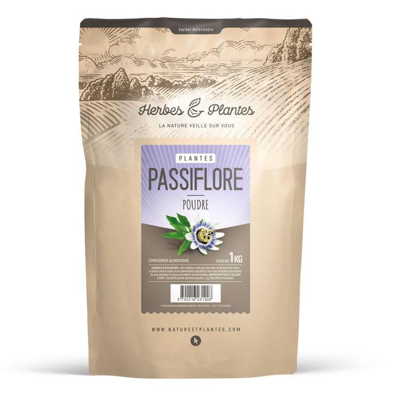 Herbes et Plantes Passiflore - Poudre 1 kg