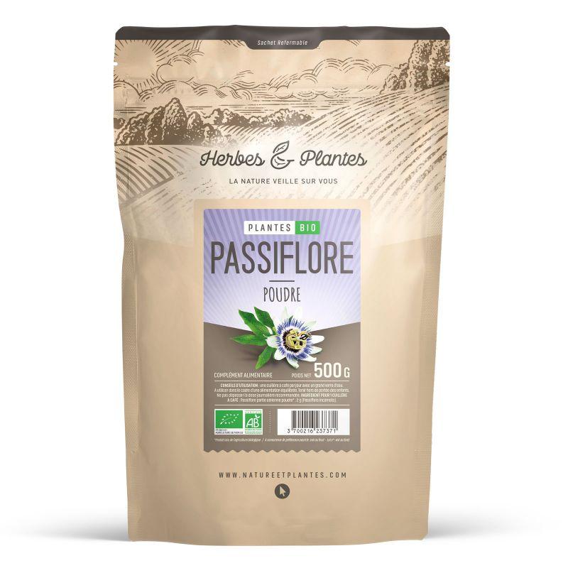 Herbes et Plantes Passiflore Bio - 500 g de poudre