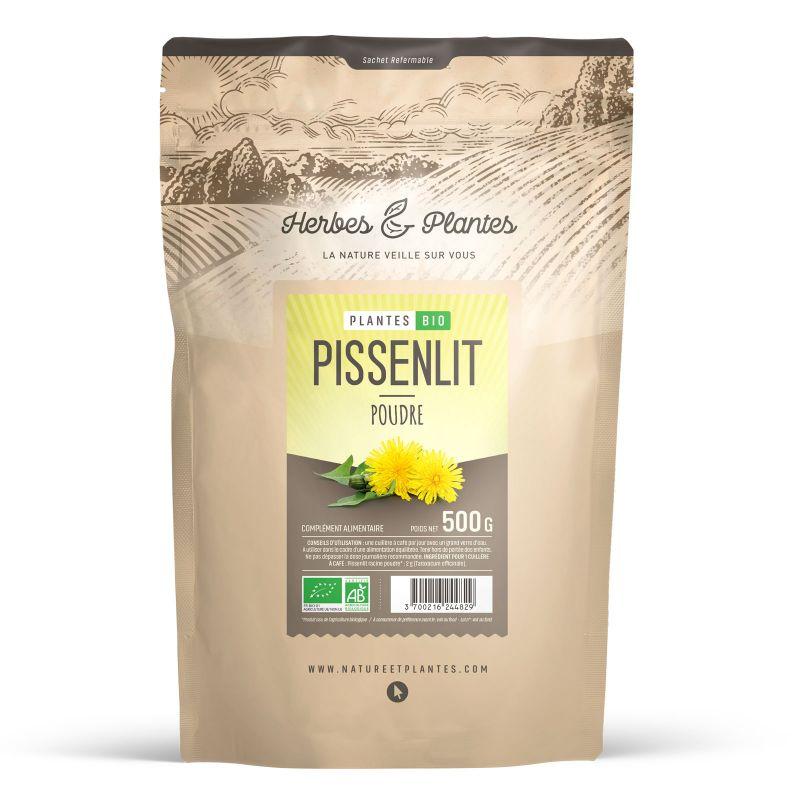 Herbes et Plantes Pissenlit Bio - 500 g poudre