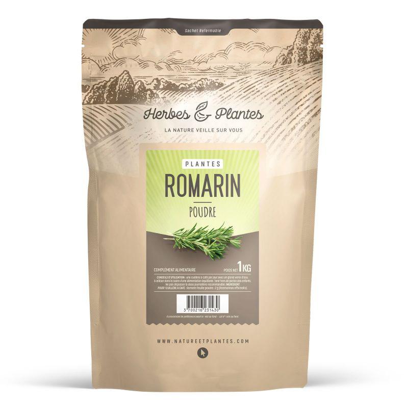 Herbes et Plantes Romarin - 1 kg de poudre