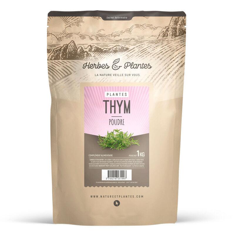 Herbes et Plantes Thym - 1 kg de poudre
