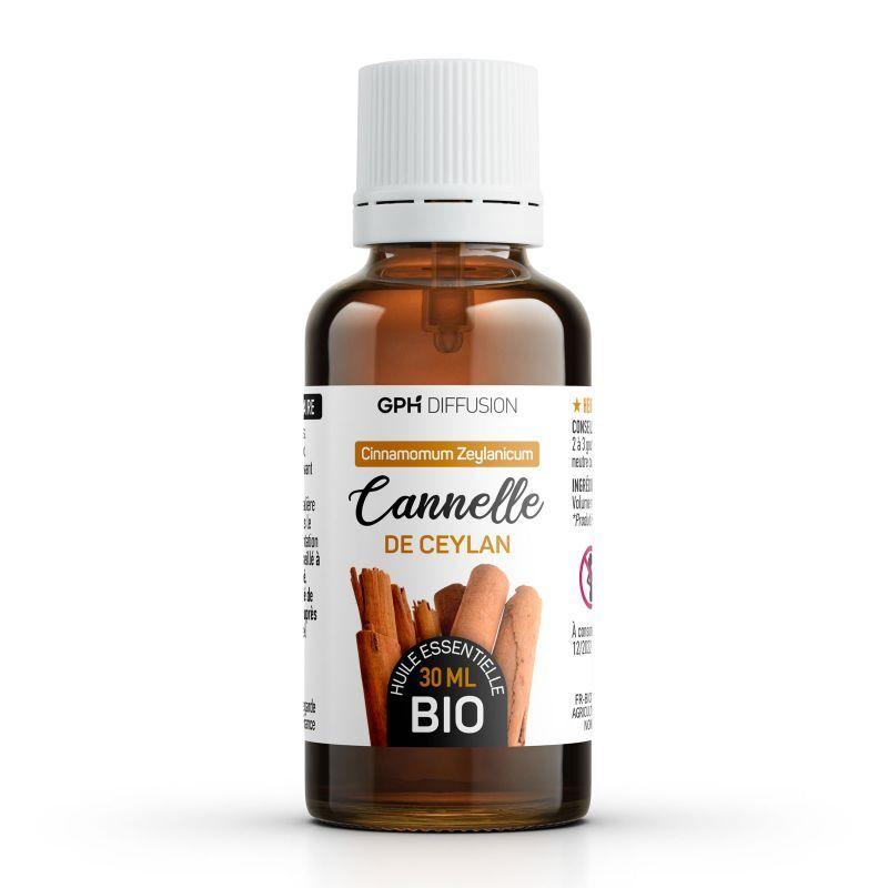 GPH Diffusion Huile Essentielle de Cannelle de Ceylan Bio