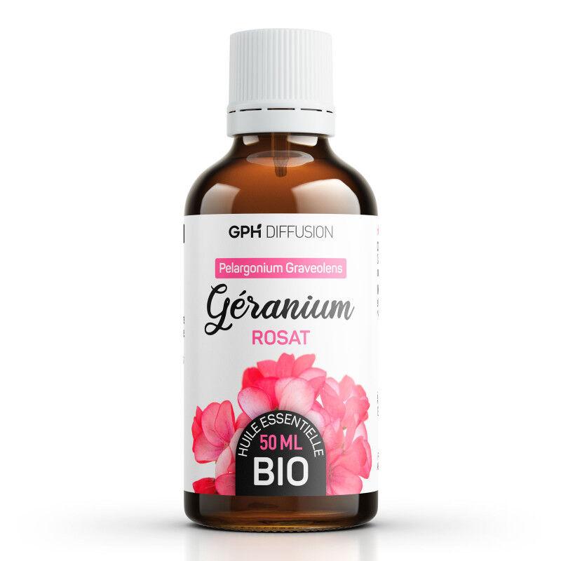 GPH Diffusion Huile Essentielle de Geranium Rosat Bio