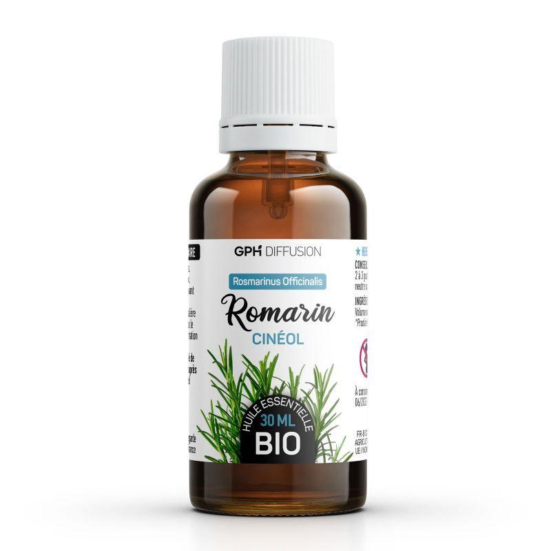 GPH Diffusion Huile Essentielle de Romarin Cinéol Bio