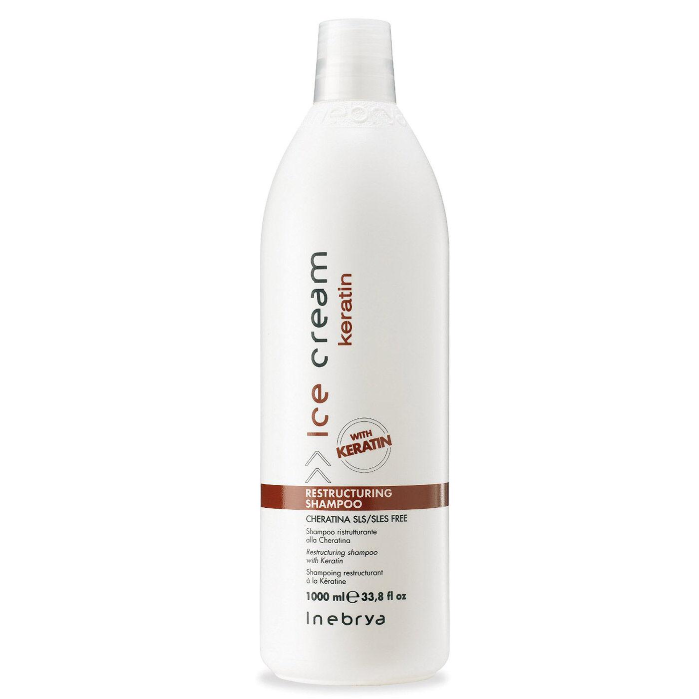 Inebrya - Shampoing Sans Sulfate - à la Kératine - 1000 ml
