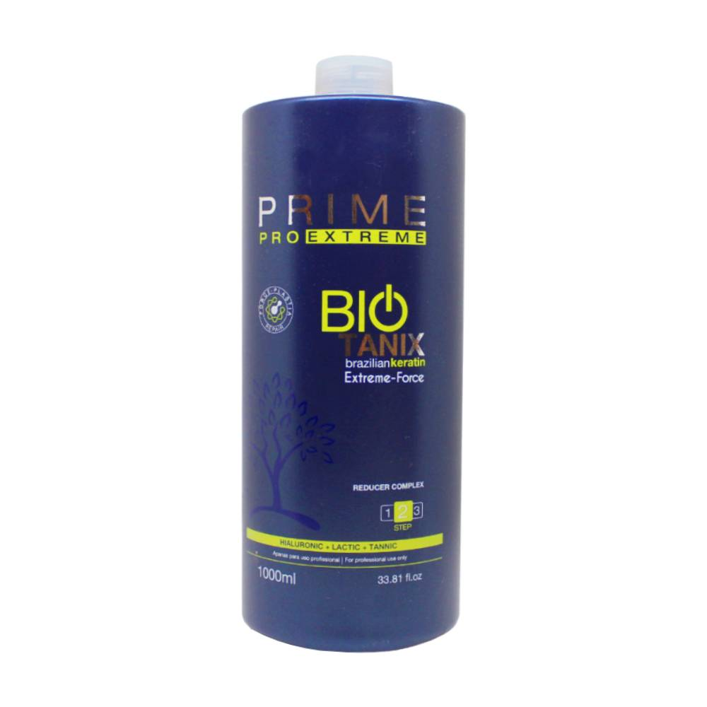 Biotanix PRIME PRO EXTREME - BIO TANIX - Lissage au Tanin - 1 x Traitement Lissant 1000 ml - STEP 2