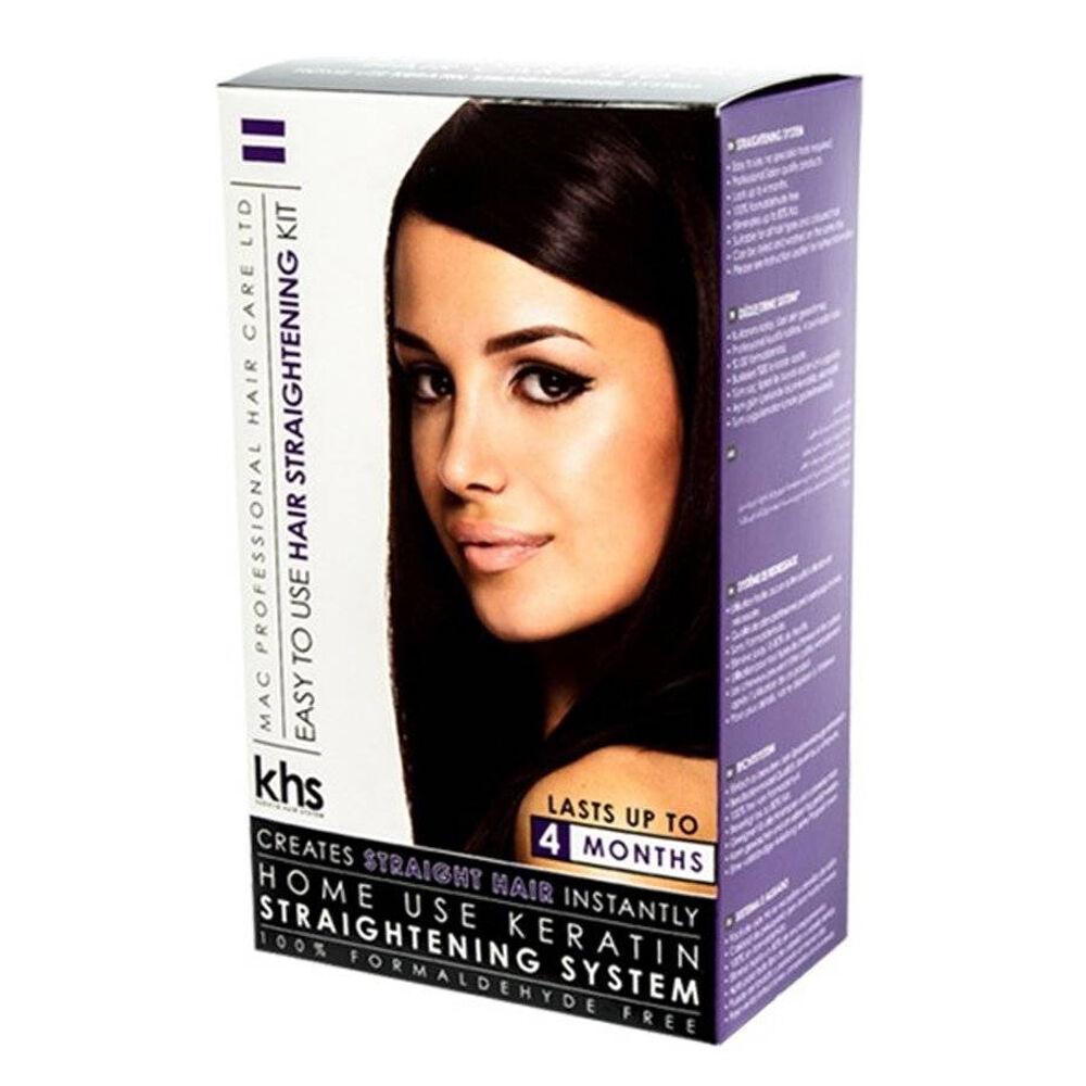 Keratin Hair System Keratin Straightening System - Kit de Lissage - 3 x 75 ml