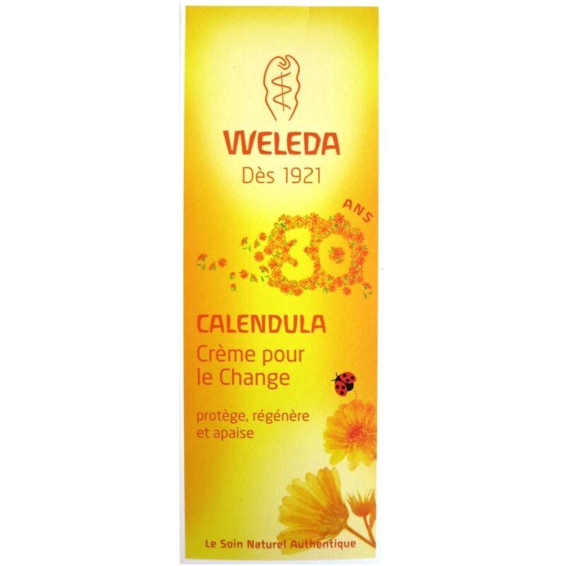 Weleda Crème pour le change Weleda au Calendula