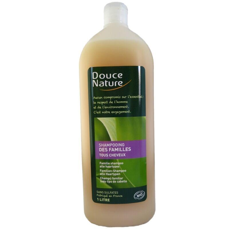 Douce Nature Shampooing des familles Tous cheveux Douce Nature 1 litre