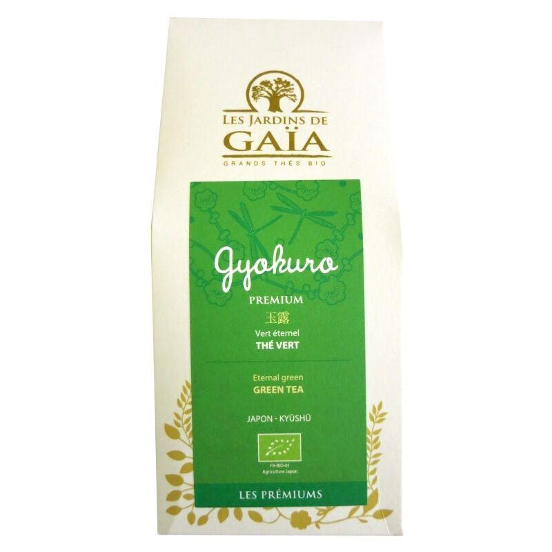 Les Jardins de Gaïa Thé vert bio Gyokuro Premium Jardins de Gaïa 100 g
